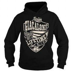 Cool Last Name, Surname Tshirts - Team GIACALONE Lifetime Member Eagle T shirts
