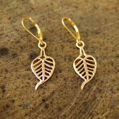 Buddhi Earrings Gold @ www.ka-gold-jewelry.com