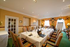 Conferences at The Imperial Hotel. Imperial Hotel, North Devon, Luxury Accommodation, Table Settings, Table Decorations, Dining, Hotels, Events, Weddings