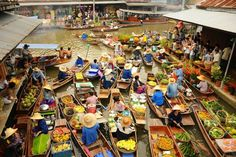 Cai Be floating market in Ho Chi Minh City: