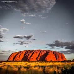 Ayers Rock, Uluru, Northern Territory, Australia. Photo courtesy of crocodilehunta on Instagram.