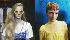Inspiration Coiffure  : Lucan Gillespie au défilé Miu Miu Croisière 2019   https://flashmode.be/inspiration-coiffure-lucan-gillespie-au-defile-miu-miu-croisiere-2019/  #Coiffures