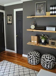 ber ideen zu grau braune farbe auf pinterest benjamin moore wandfarbe farbt ne und. Black Bedroom Furniture Sets. Home Design Ideas