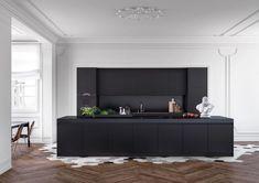 Modern Luxury Kitchens For A Grand Kitchen Home Decor Kitchen, Kitchen Furniture, Kitchen Interior, Modern Kitchen Design, Modern Interior Design, Interior Architecture, Küchen Design, Layout Design, House Design
