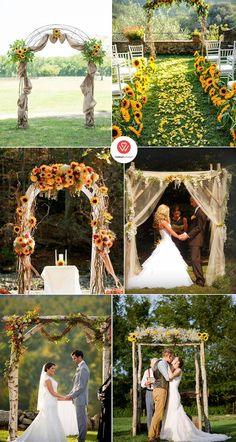 inspiring sunflower wedding ideas for 2019 - bold, chic and bright, sunflowers . inspiring sunflower wedding ideas for 2019 – bold, chic and bright sunflowers are well known Fall Sunflower Weddings, Sunflower Wedding Decorations, Rustic Sunflower Centerpieces, Country Wedding Centerpieces, Rose Wedding, Wedding Flowers, Dream Wedding, Wedding Greenery, Sunflowers And Roses