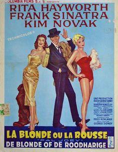 Rita Hayworth, Frank Sinatra & Kim Novak - Pal Joey, 1958.
