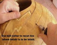 Gourd Crafting techniques Carving and Inlay