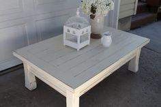 {Shabby Chic Coffee Table} — Vintage Farm Furniture