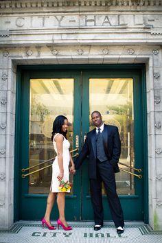 Tampa City Hall Courthouse Wedding | Shakeyra & Omar | L. Martin Wedding Photography_13