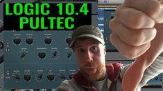 Logic 10.4 Pultec EQ - UAD & Waves Showdown https://youtu.be/IVaHMA47mI0