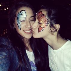 Theater of Dreams sprinkling magic into our lives..  #facepaint #entertainment  Madame Zingara's Miracle Tour