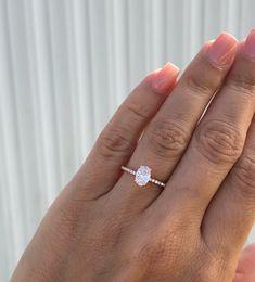 Engagement Ring Rose Gold, Dream Engagement Rings, Wedding Rings Rose Gold, Engagement Ring Settings, Vintage Engagement Rings, Diamond Wedding Bands, Wedding Jewelry, Silver Rings, Silver Jewelry