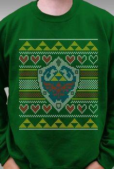 Legend of Zelda Ugly Christmas Sweater Pattern (The design, not ...