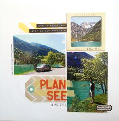 Plan See / Plan Lake, Germany - Scrapbook.com