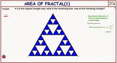 http://dmentrard.free.fr/GEOGEBRA/Maths/Nouveautes/4.25/fractalarea1MD.html