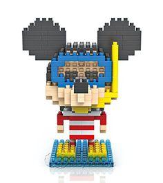 Amazon.com: LOZ Building Toy Nano Block Mini Diamond Set of 5 Pcs -Mickey (100% New, No Original Packaging!): Toys & Games