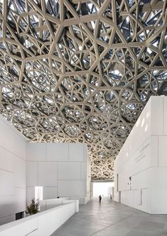 Louvre: Abu Dhabi Floating Dome https://www.futuristarchitecture.com/35719-louvre-abu-dhabi-floating-dome.html #futuristicarchitecture
