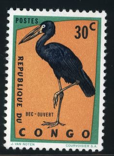 Stamp from the Republic of Congo