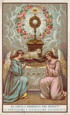 Our Lord in the Blessed Sacrament