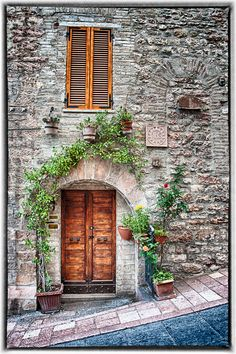 Doorways of Italy - Assisi by Dennis Rainville, via 500px