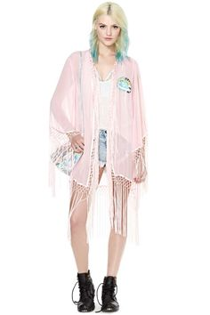 UNIF Stay Fly Kimono | Shop Clothes at Nasty Gal