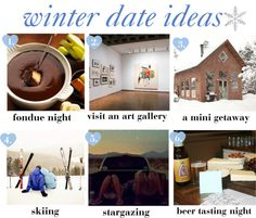 winter date ideas to keep the winter relationship blues away!