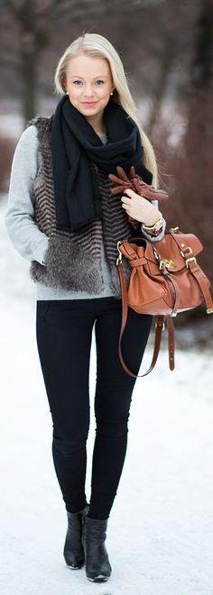 Everything about this is effortlessly cute for winter