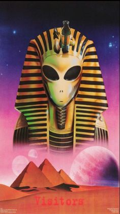 Stream Egypt by Lil KiLLT from desktop or your mobile device Aliens And Ufos, Ancient Aliens, Ancient Egypt, Illustrations, Illustration Art, Alien Photos, Flame Art, Alien Tattoo, Alien Art