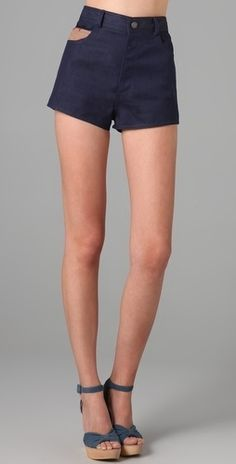 Pendleton for Opening Ceremony Denim Shorts - StyleSays