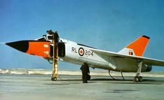 Avro Canada CF-105 Arrow. A delta-winged interceptor aircraft that was the pride of Avro and Canada. Introduced on 4 October 1957. It may have been capable of Mach 3. Mysteriously cancelled 20 February 1959 under much controversy and put Avro out of business.
