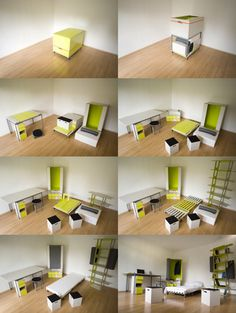 This is super awesome for college!!  Great idea: Casulo Apartment to go