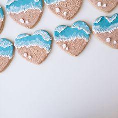 heart sugar cookie - Recherche Google