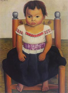 Modesta,1937 by Diego Rivera