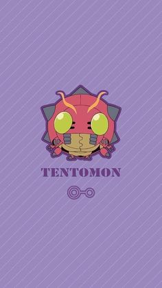 Tentomon chibi. Sabedoria. Digimon Adventure Tri.