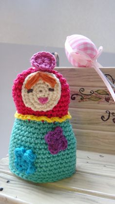 Sweet Key Cover (russian girl doll). $8.50, via Etsy.
