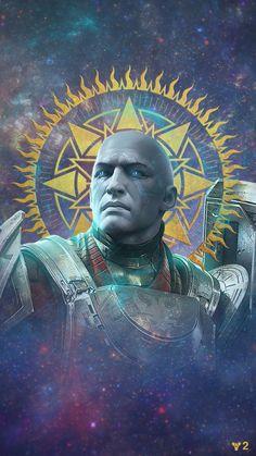 Holy Zavala Protector of the Arc Destiny Bungie, Destiny Game, My Destiny, Character Concept, Character Art, Concept Art, Character Design, Character Portraits, Backgrounds