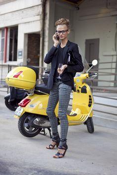 Street Style: Anna Selezneva   The Front Row View