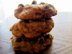 One of my all time favorite fall cookies. Chocolate Chip Pumpkin Cookies