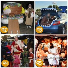 Religious Theme l Decorating Cars l Cars & Halloween TRUNK OR TREAT