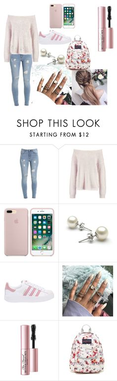 """""""look 2 its"""" by kayla-demodna on Polyvore featuring adidas Originals and JanSport"""