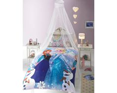 Frozen Crystal Duvet Set £20.00 Officially licenced reversible single duvet set. Includes 1 pillowcase. 100% polyester.