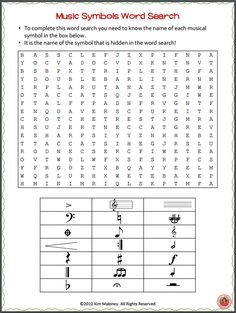 MUSIC Word Search - with a twist!! FREE to download July 1-4 only!! ♫ CLICK through to download your copy now! ♫