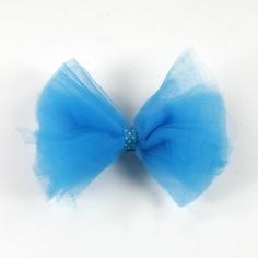 How to make a tulle hair bow for Uncle Chris and Aunt Sarah's wedding