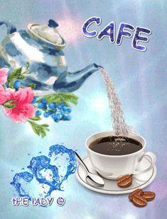 Black coffee or milk? Good Morning Coffee, Good Morning Love, Good Morning Greetings, Good Morning Quotes, Coffee Love, Coffee Cups, Black Coffee, Imagenes Gift, Corazones Gif