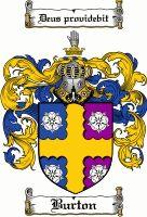 Burton Coat of Arms / Burton Family Crest
