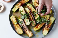 "How to Make Marinated Zucchini - Genius Recipes - ""The Most Flavorful Zucchini is Also the Simplest Make-Ahead Side"""