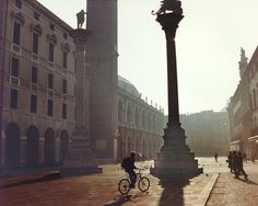 Vicenza, Italy town square