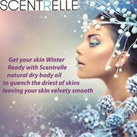 Get your skin #winter ready with #scentrelle #natural dry #bodyoil to quench the driest of skins leaving your #skin #velvetysmooth.