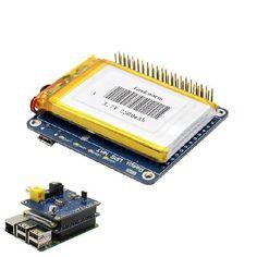 9c452610d48 Geekworm UPS HAT Board + 2500mAh Lithium Battery For Raspberry Pi 3 Model B    Pi