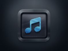 Simple Icon for a MusicApp by Alexander Leschenko